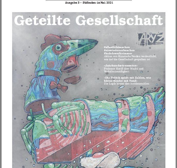 """""""Qfm.Media"""" – """"Die Querdenker Zeitung"""" Ausgabe No 3 ist fertig"""