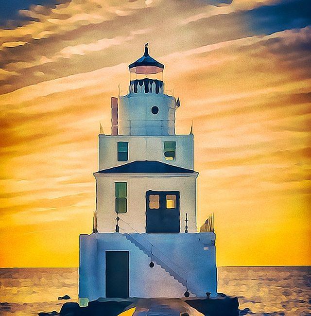 Die Leuchtturm-Braut hält Ausschau …von Raissa Joe